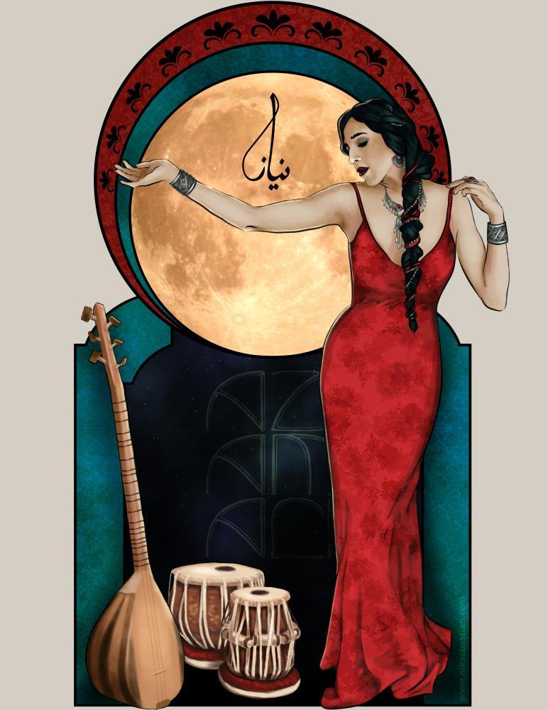 Azam Ali | Nik Sebastian, Artist
