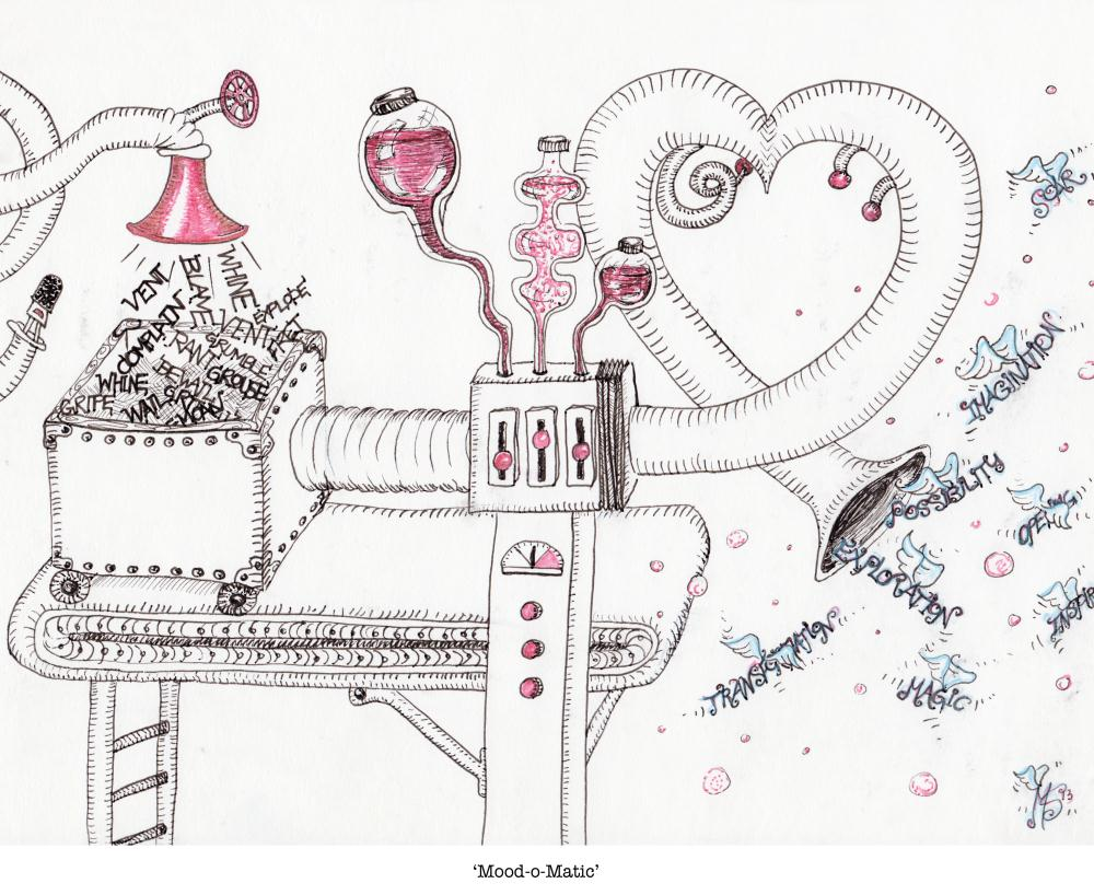 Mood-o-Matic | Marianna Seger