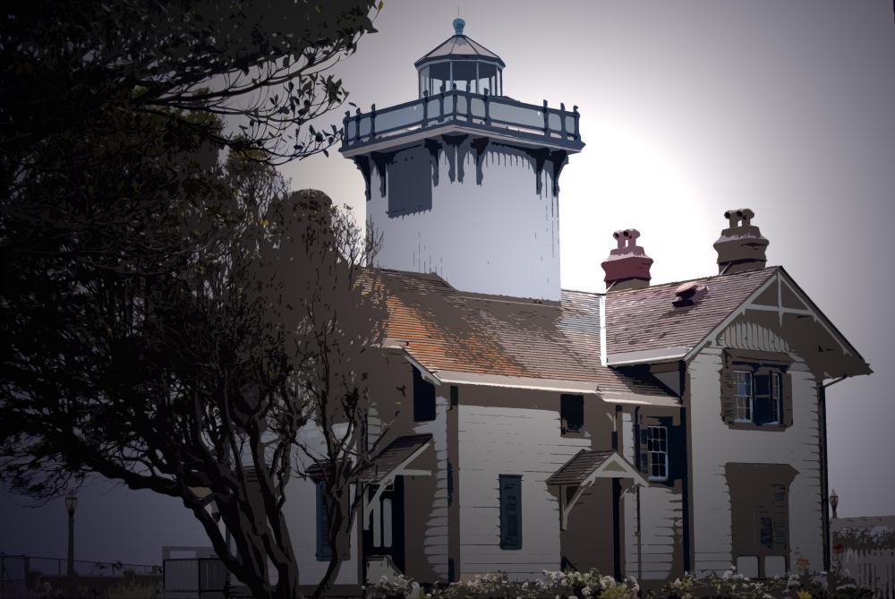 Point Fermin Lighthouse   Photos by Pinta