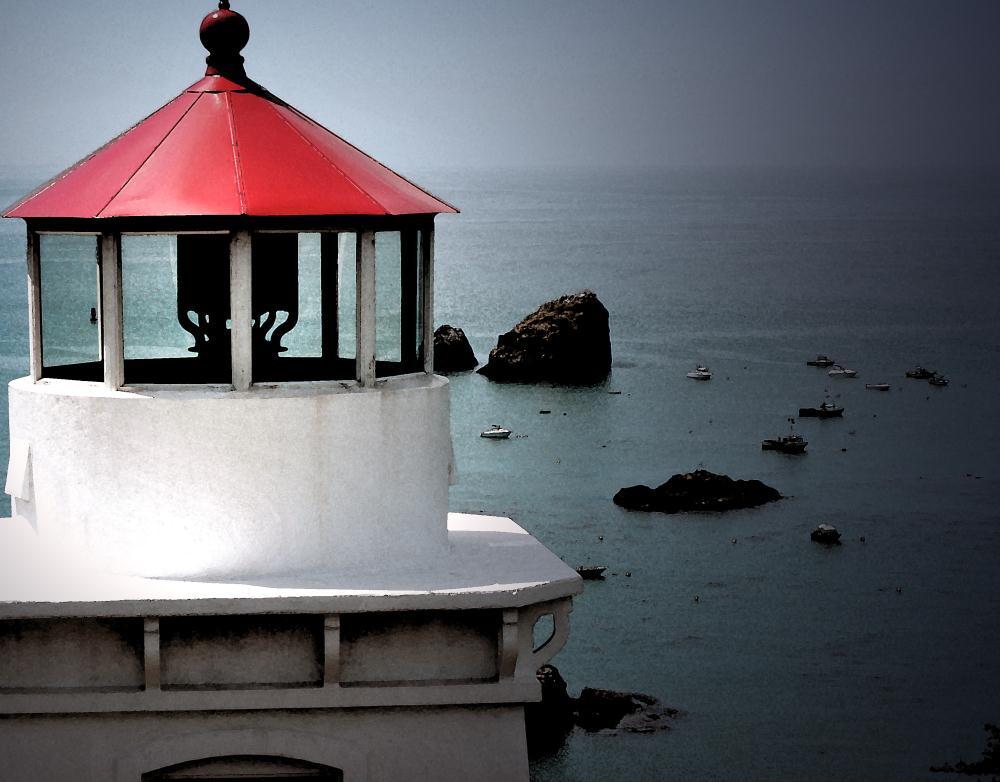 Trinidad Head Lighthouse ...   Photos by Pinta