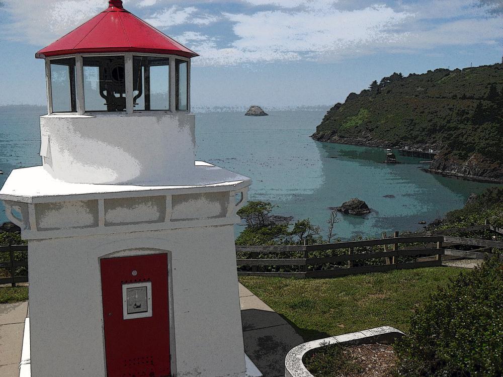 Trinidad Head Lighthouse    Photos by Pinta