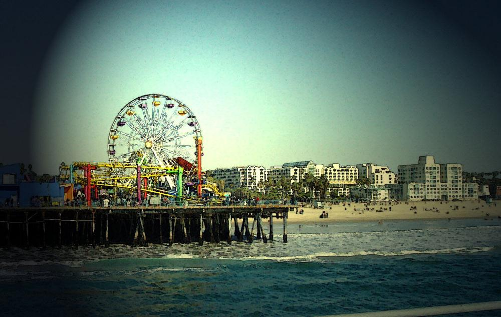 Santa Monica Pier Waterco... | Photos by Pinta