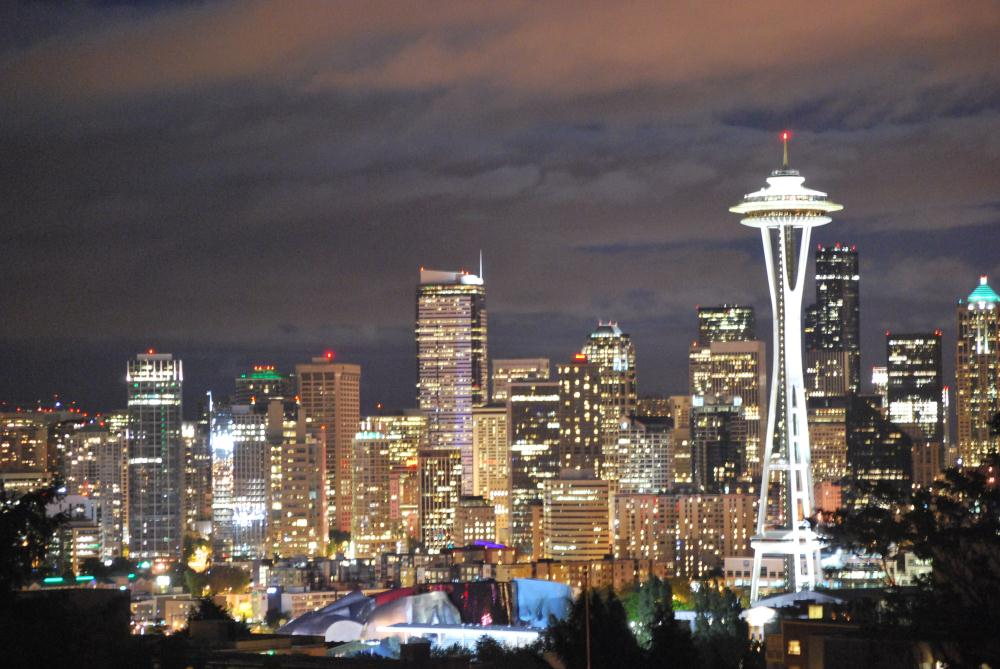 Illuminated Seattle | Photos by Pinta
