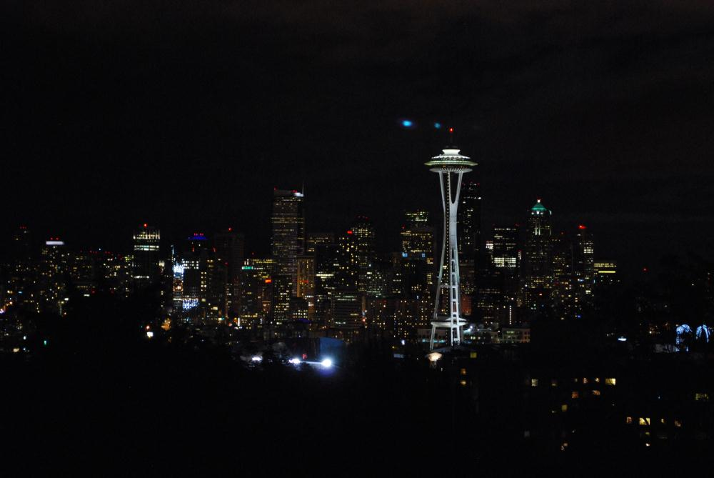 Nighttime Seattle | Photos by Pinta