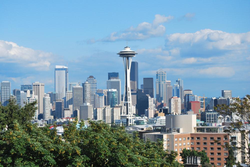 Seattle Skyline | Photos by Pinta