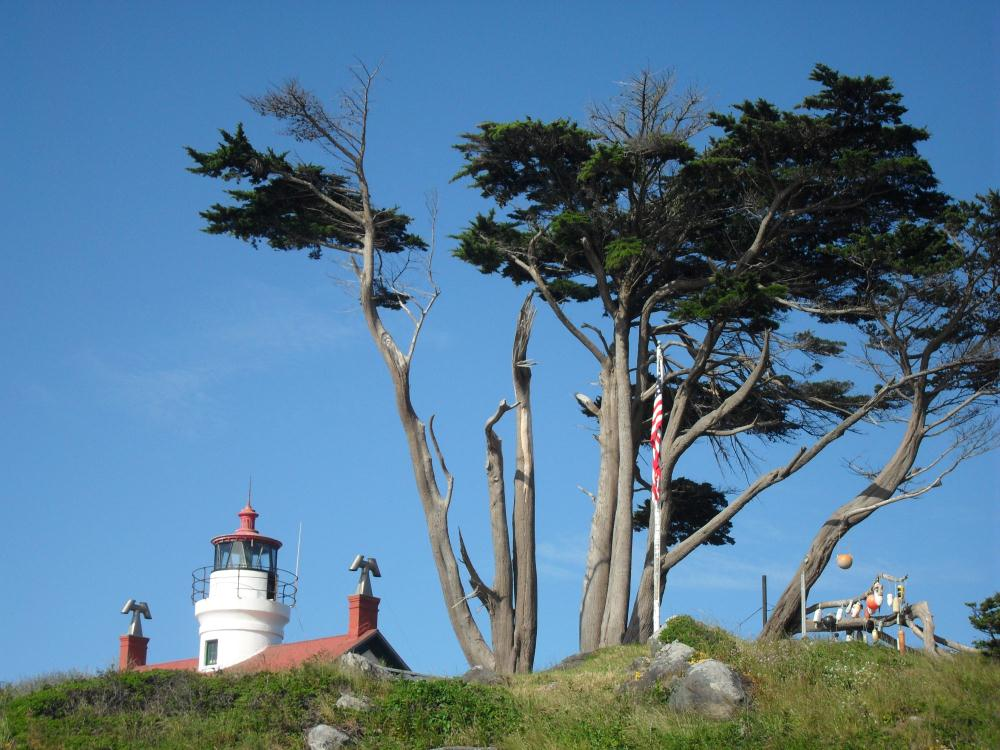 Battery Point in Crescent...   Photos by Pinta
