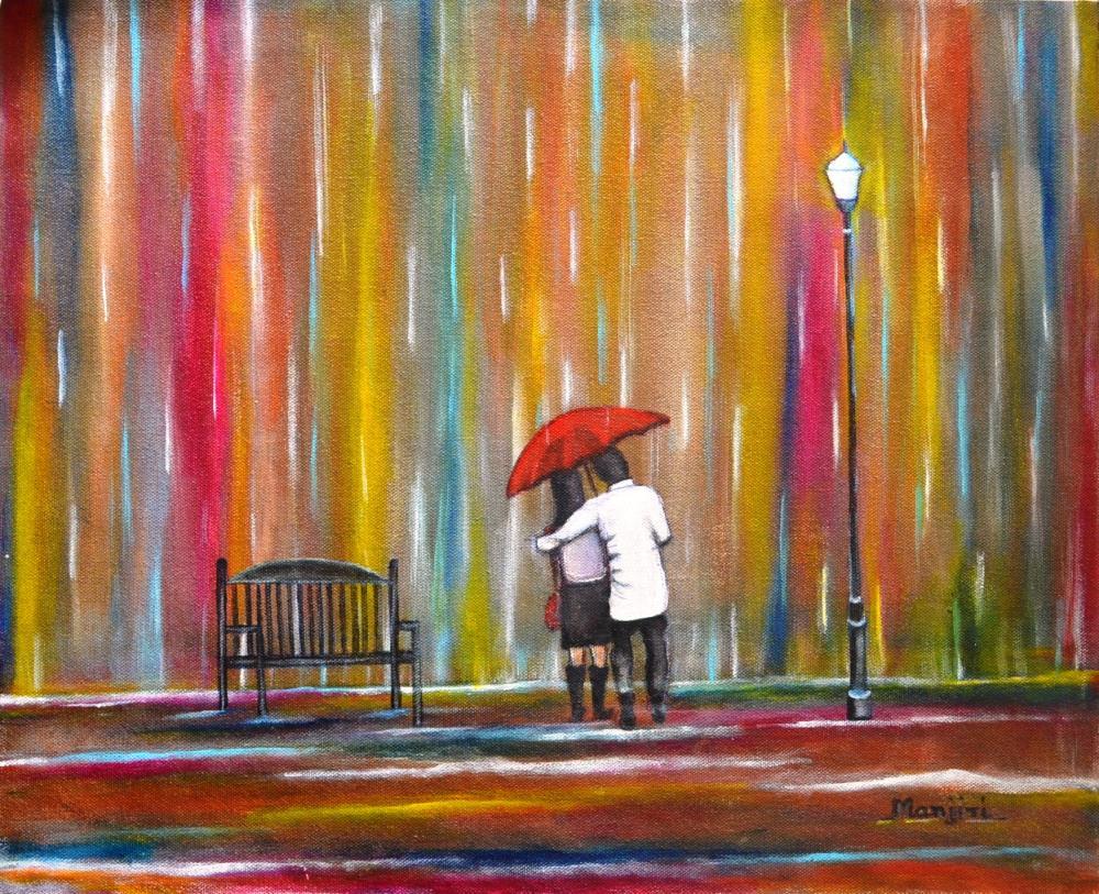 Love in the Rain | artbymanjiri