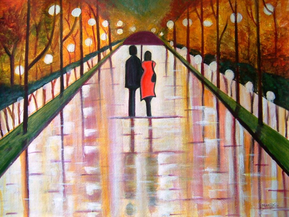 A Rainy Day | artbymanjiri