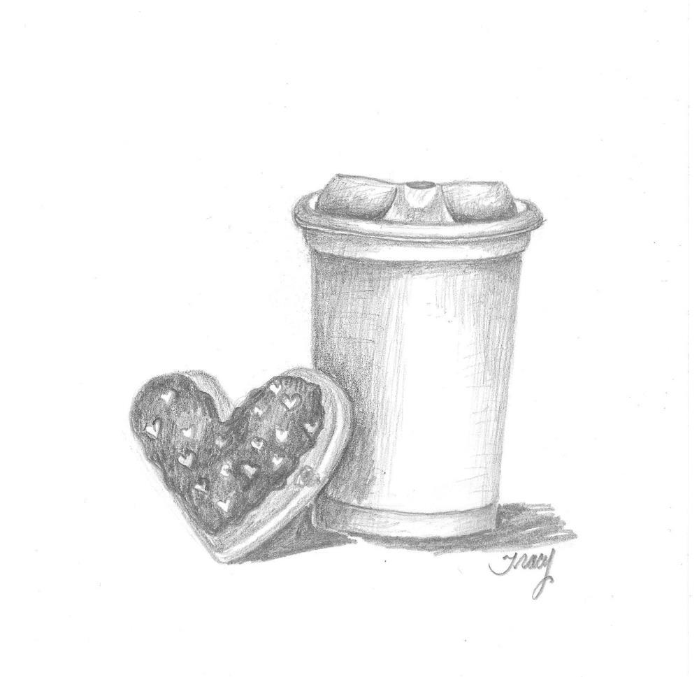 coffeedonuttogo | Tracy's Artwork