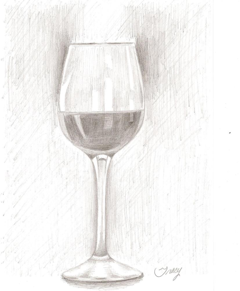 wineglass | Tracy's Artwork