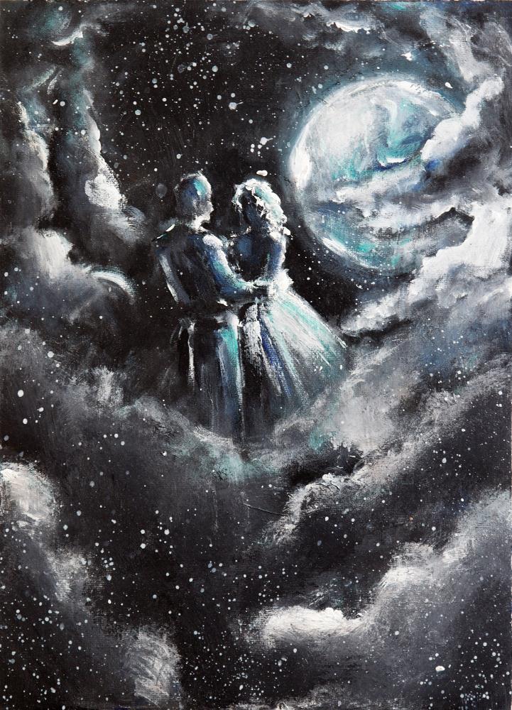 Dancing Amonst the Stars | Whitney Wilkinson Art