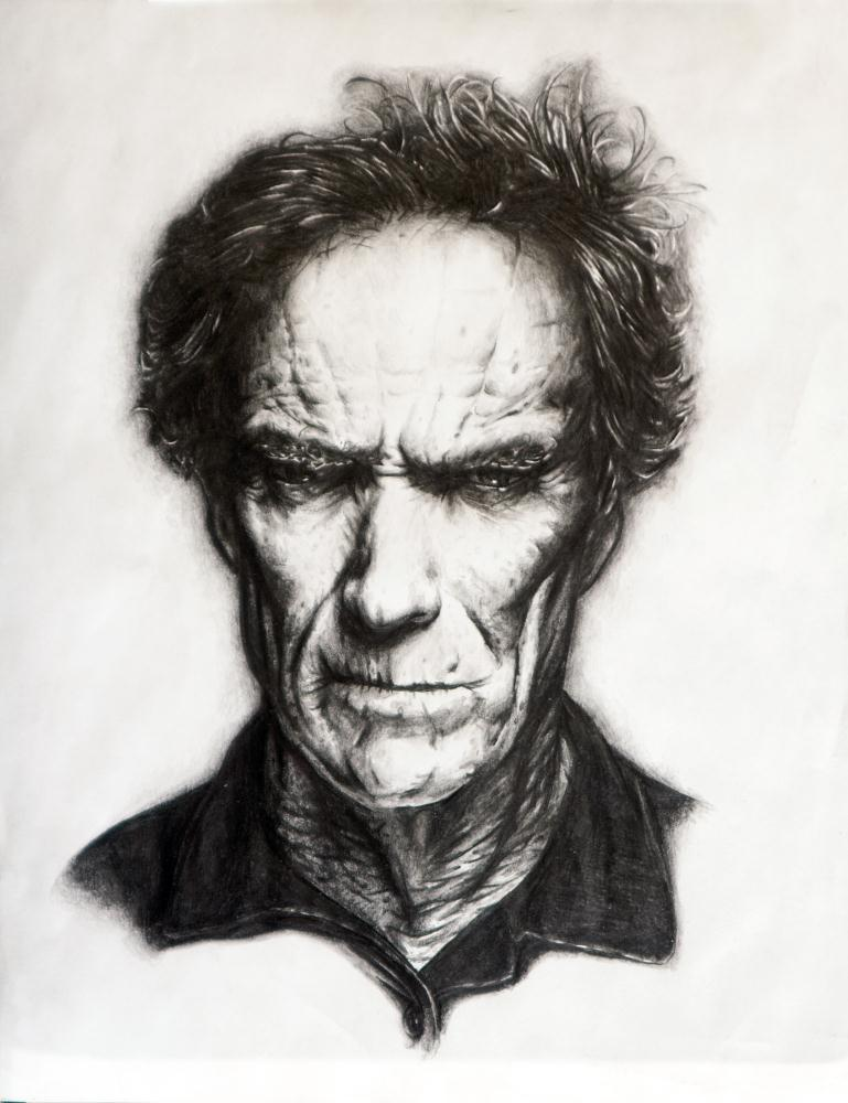 Clint Eastwood | Whitney Wilkinson Art