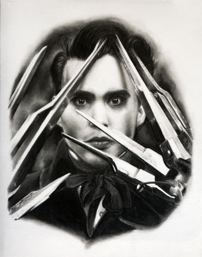 Edward Scissorhands | Whitney Wilkinson Art