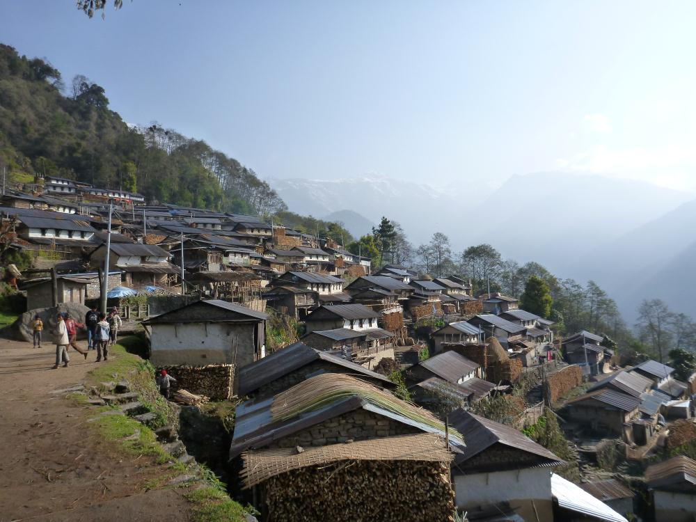 Nepalese Mountain Village | Persistent Illusions