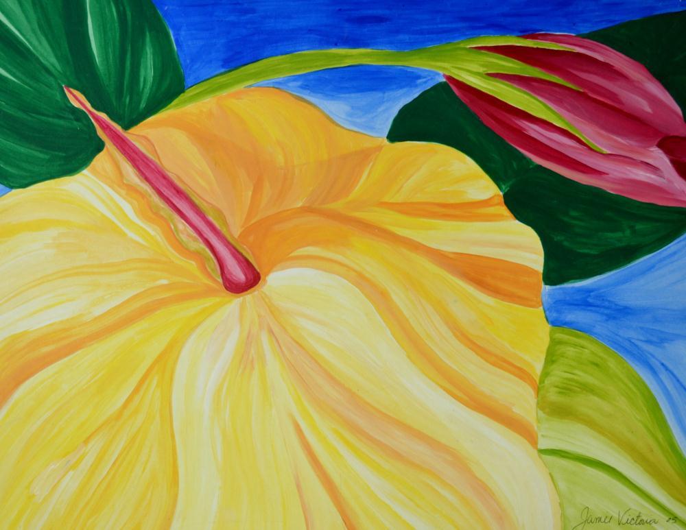 Yellow Hibiscus  | JME Victoria