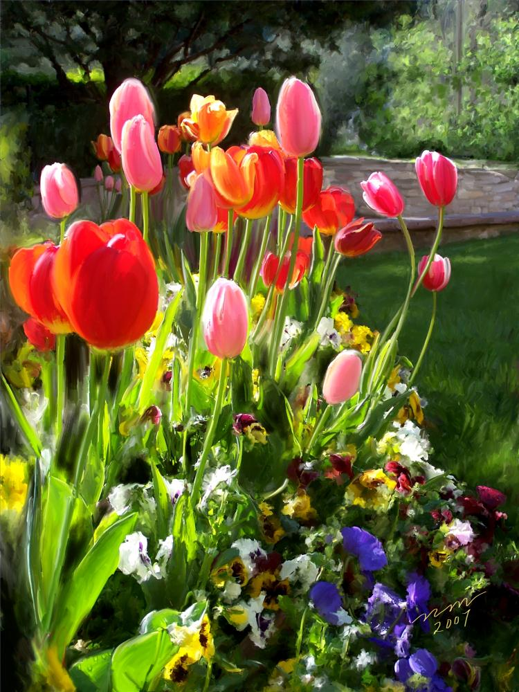 TULIPS IN ITALY | Painted Expressions by Ni...