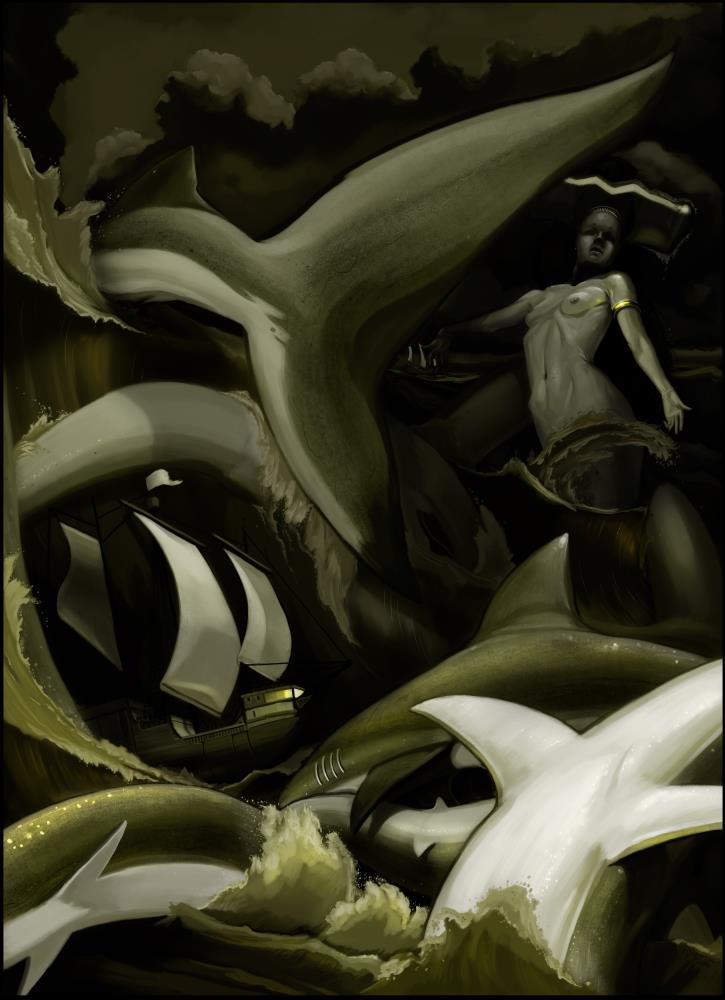 Sea Goddess | Daniel Charles Picou Art