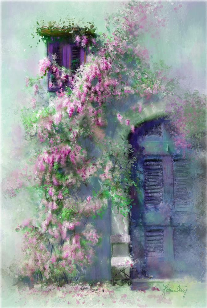 Pink Wisteria | Expressions of Life