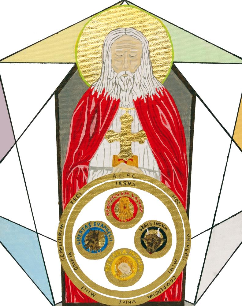 Frater C.R.C. Entombed | Art and Iconography