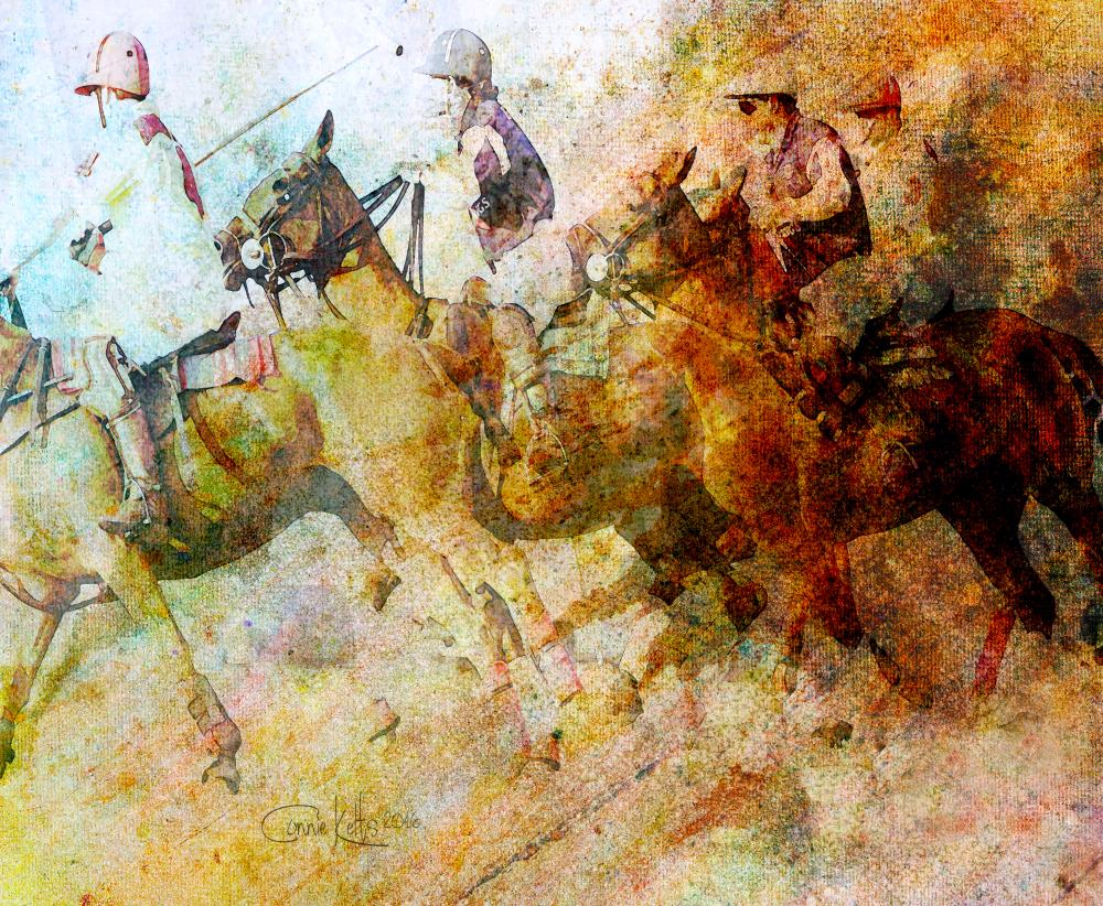 Polo The Sport of Kings   C. Kelts Graphic Design