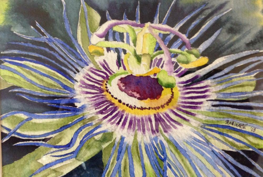 Passion Flower | My artwork