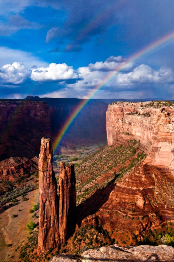 Spider rock rainbow 1 |