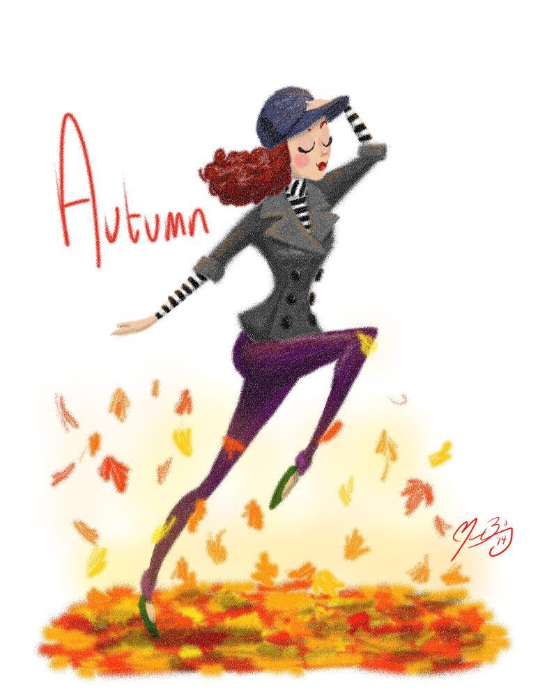 Autumn | Sketchums: The Art of Mas...