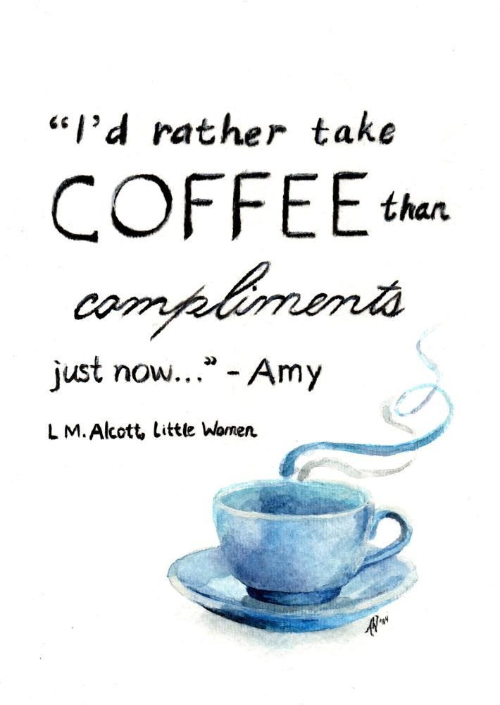 Coffee and Compliments | Imago Custom Artwork