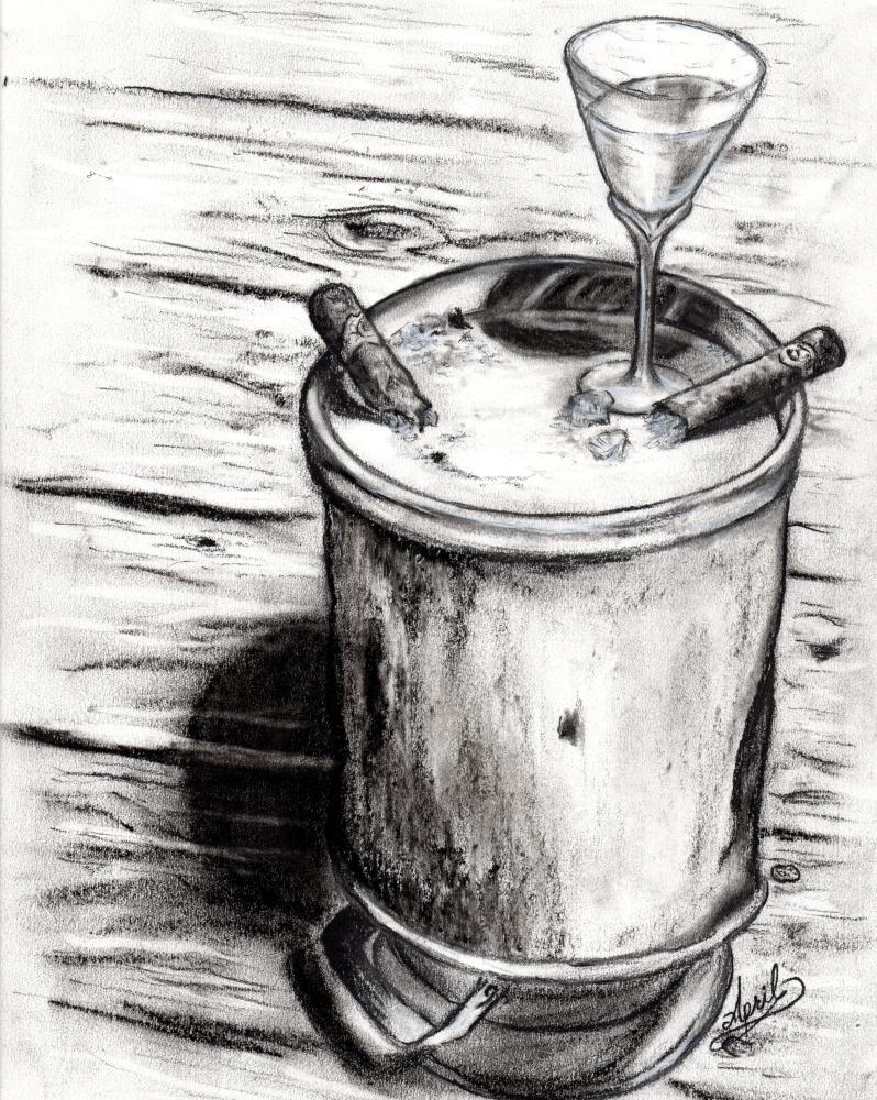 Martini and Cigars | Imago Custom Artwork