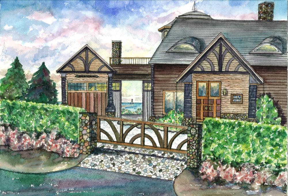 Sea View | Watercolours