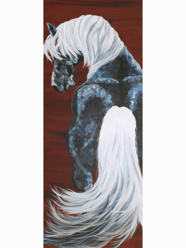 BlueHorse   My Paintings