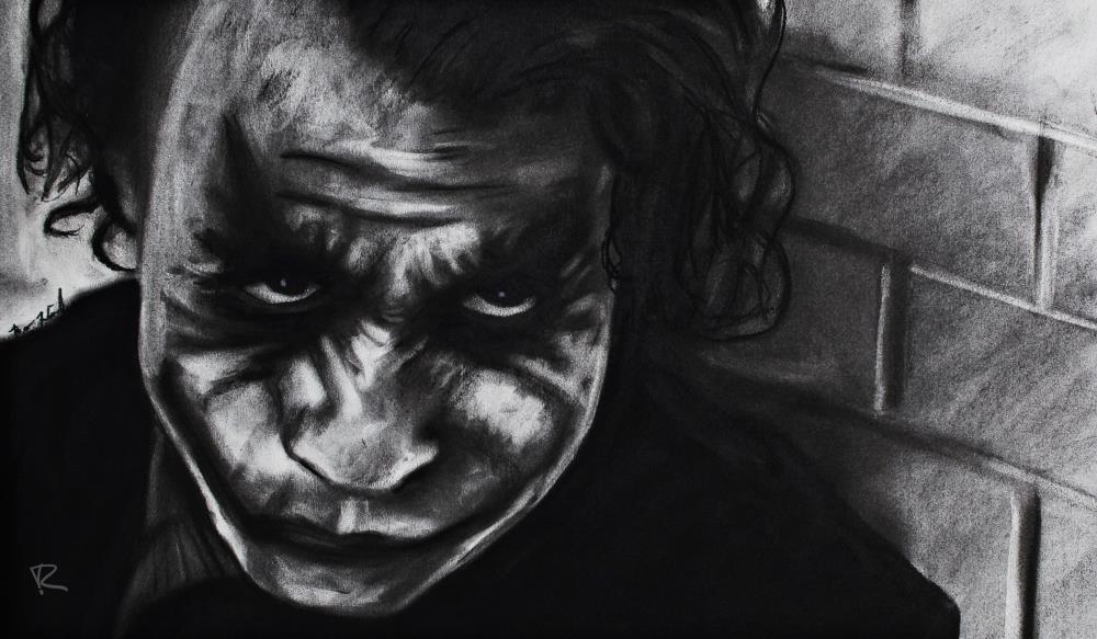 Heath Ledger(Joker) | Second Crop Creative