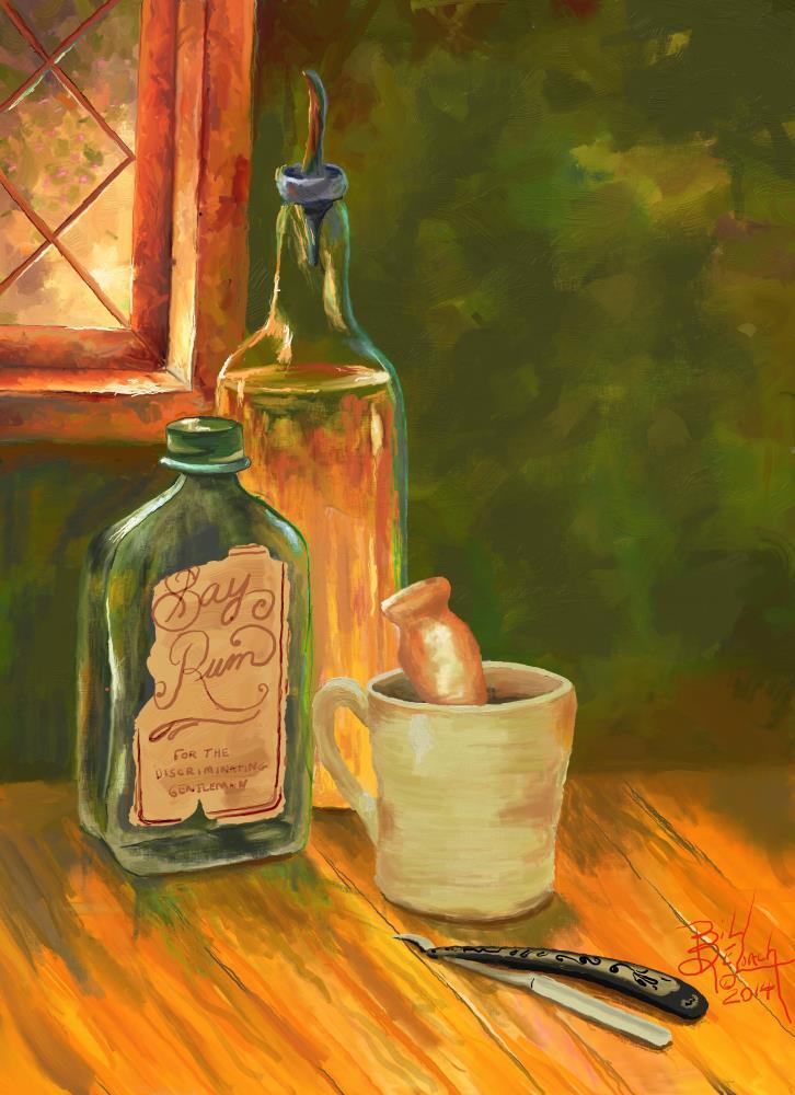 Bay Rum | Art of Bill DeLoach