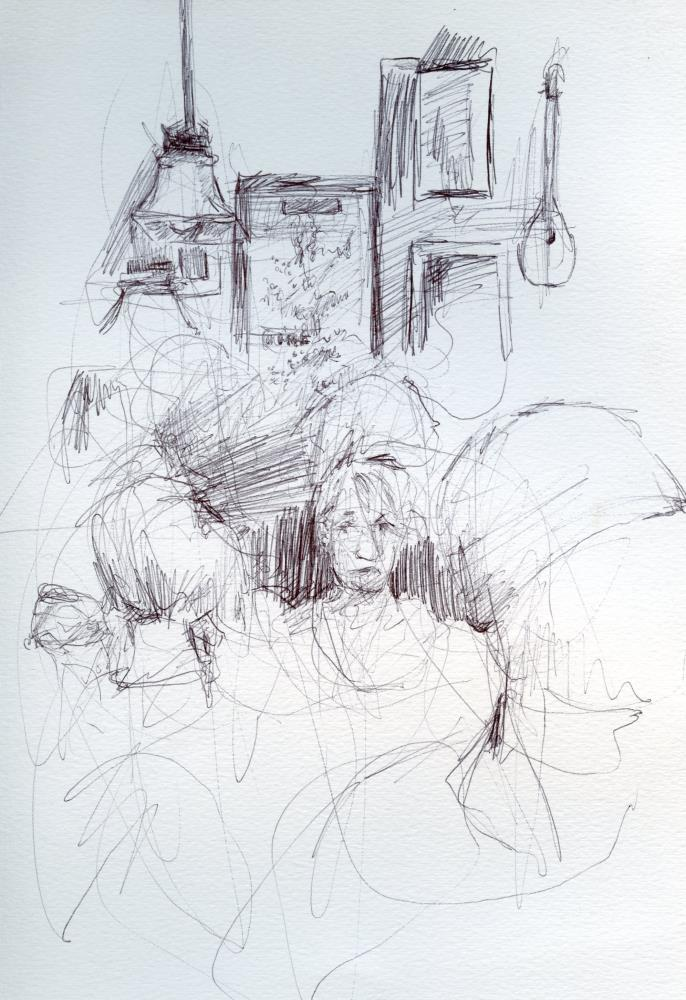 Lonely Girl at Bull McCab... | Solei Arts