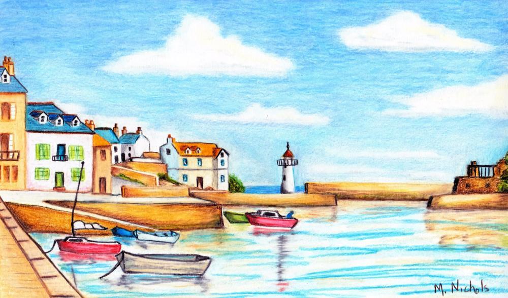 harbor | Mary's Prints