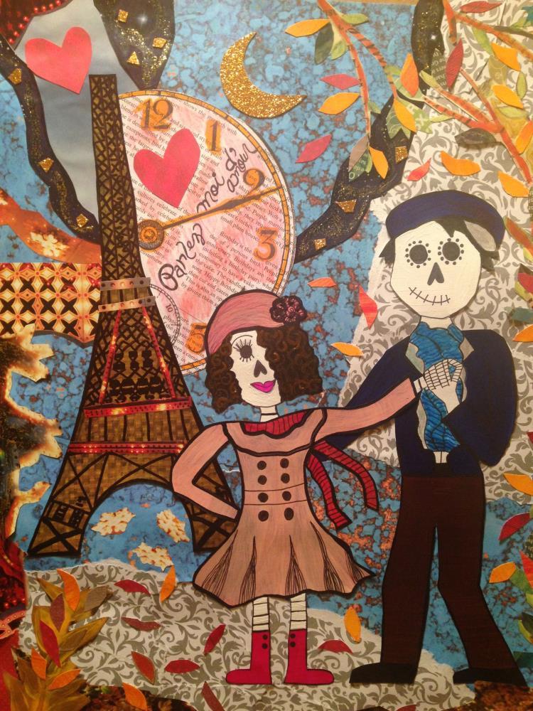 Love in Paris by conbon | I do art with a little fu...