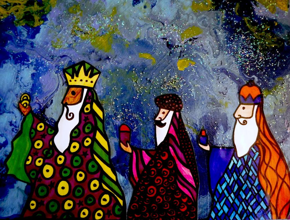 Los 3 Reyes by Conbon | I do art with a little fu...