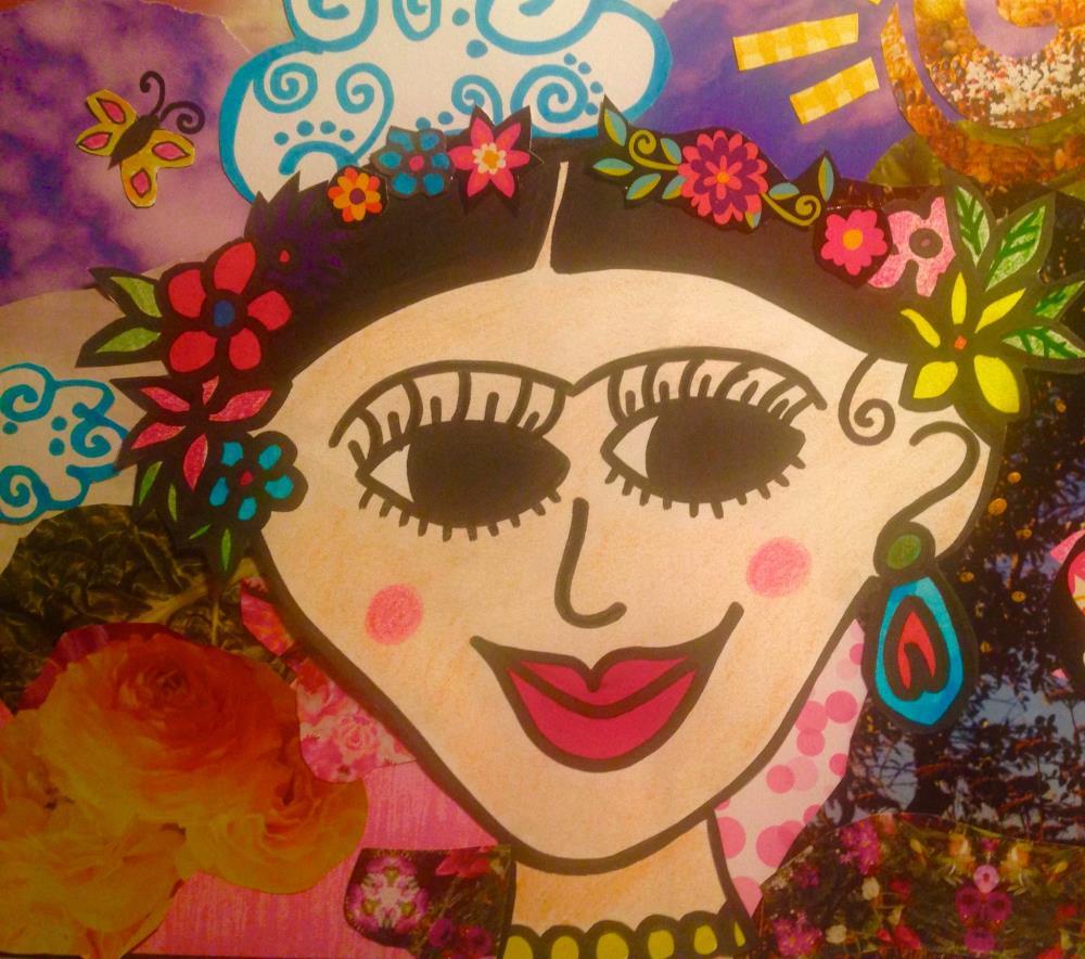 VivaFrida | I do art with a little fu...