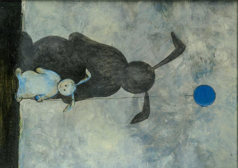 Shadow Rabbit | Art Prints