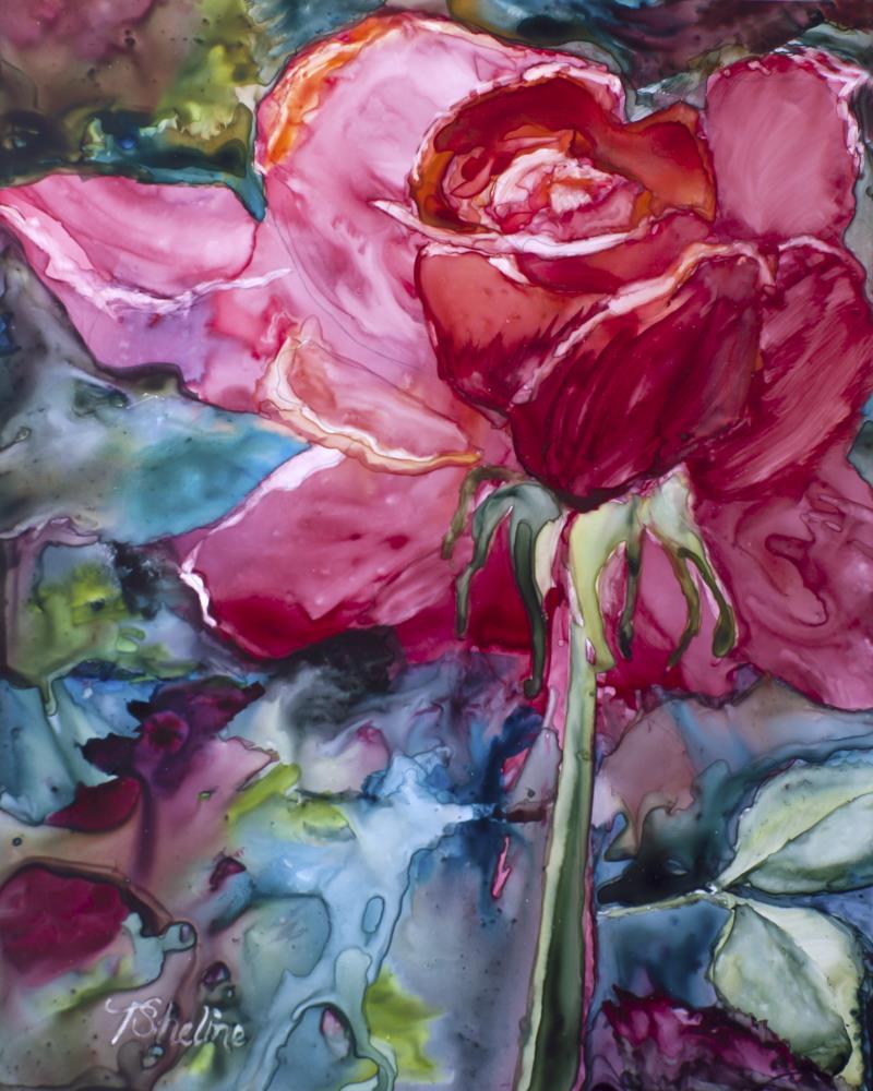 Heartfelt Rose | Tamra Sheline, Artist