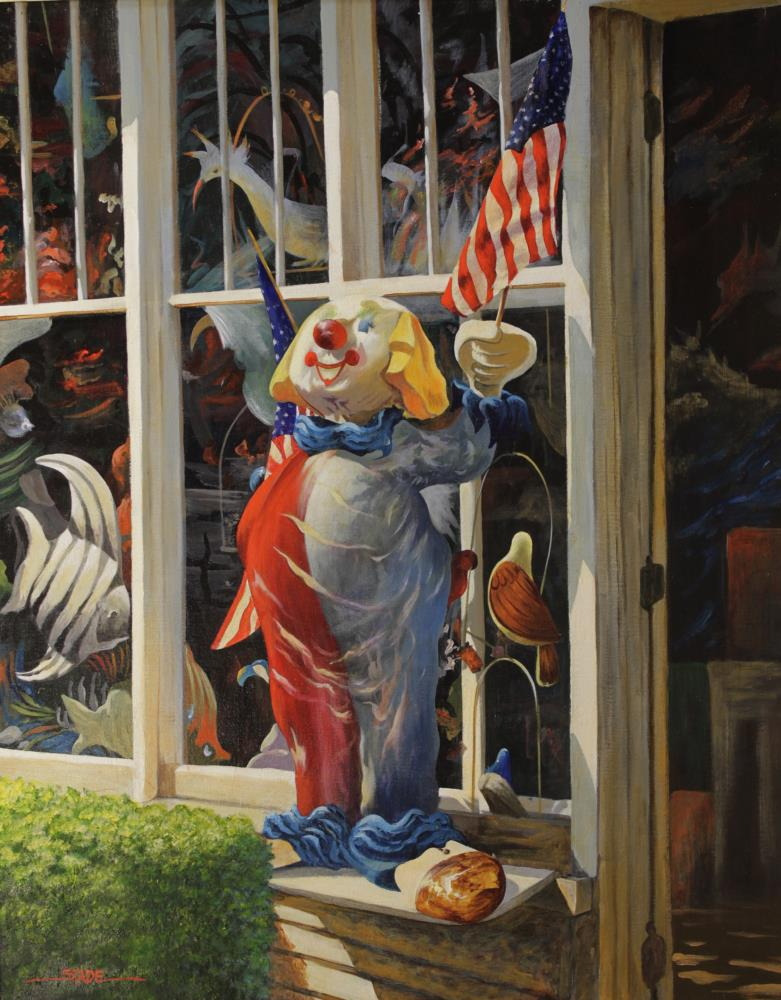 Grandpa's Circus | tom's paintings