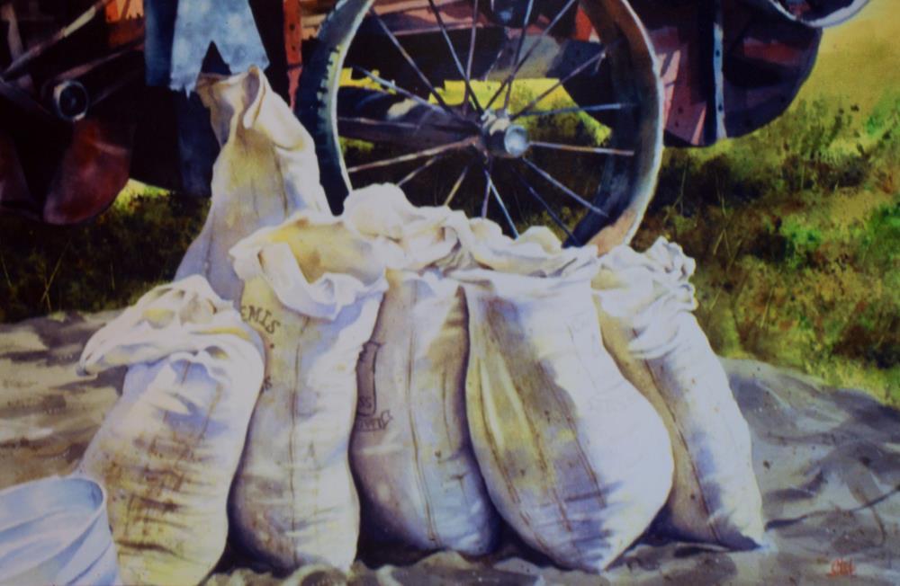 Grain Bags | tom's paintings