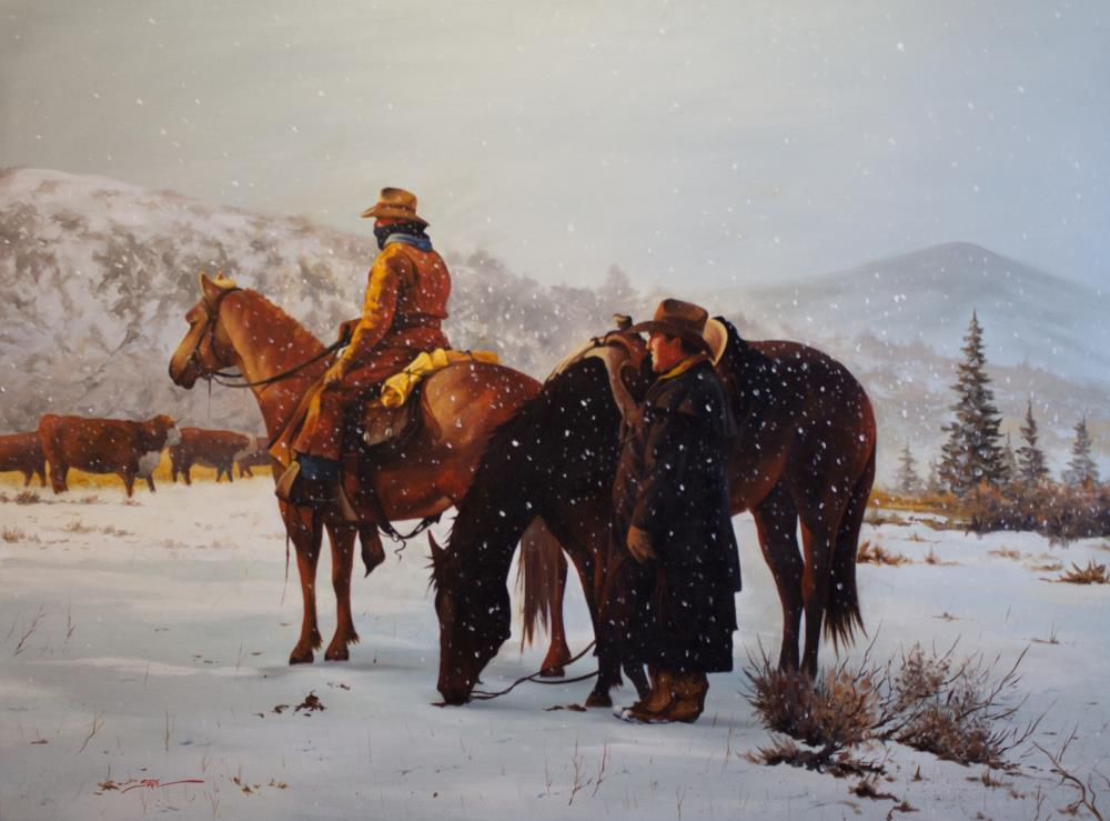 Montana Cowboys | tom's paintings
