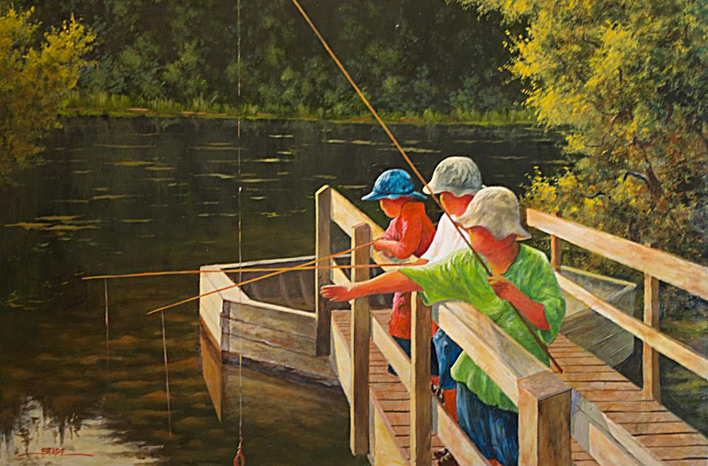 little fishermen | tom's paintings