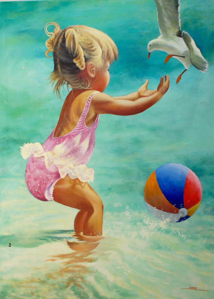 Beach Ball | tom's paintings