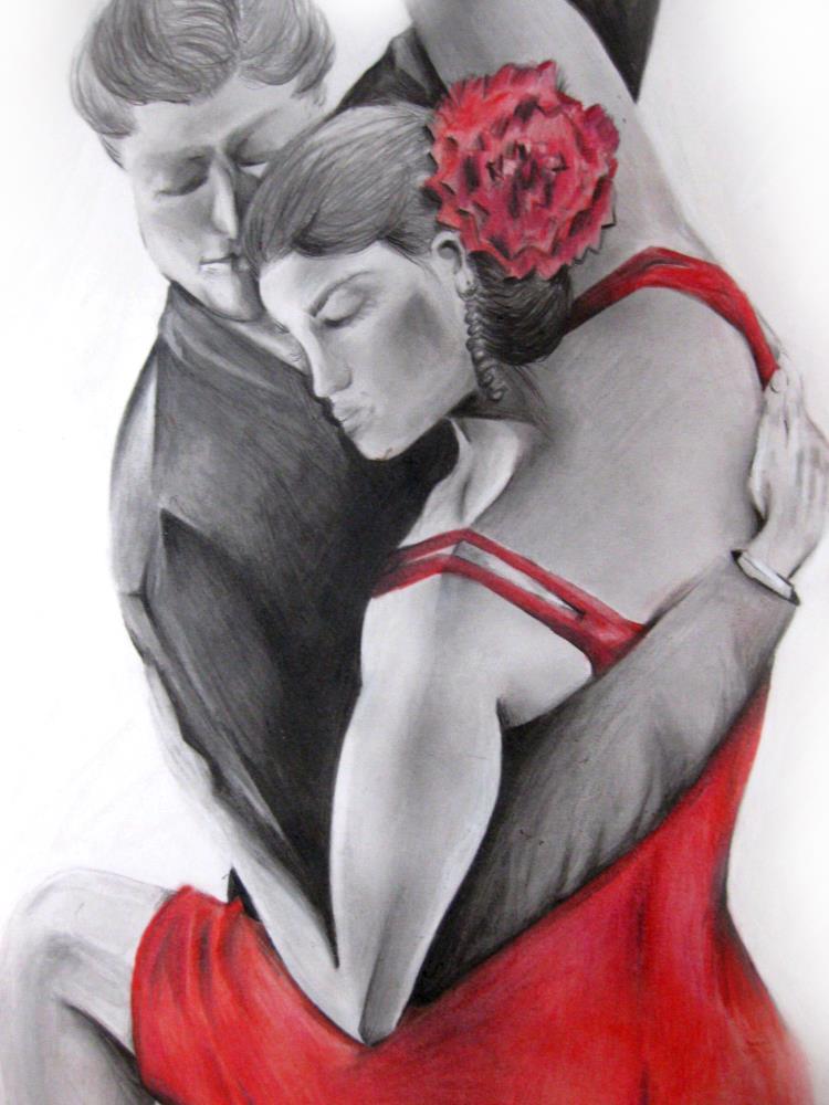 Young Dancers II | RChavezArt.com
