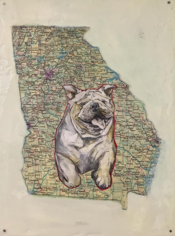 Georgia Bulldog | Art Pics