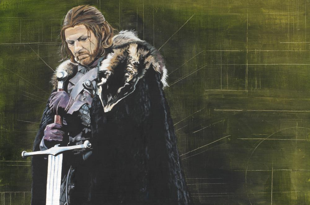 Game of Thrones - Ned Sta... | Benny Miller: Art