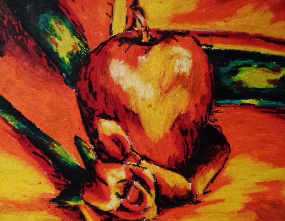 Orange Still Life | From My Mind to Your Eyes