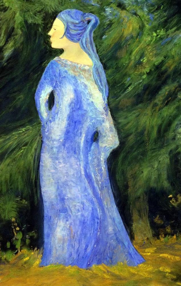 IMG2979 The Blue Lady | Carla Zwahlen Art